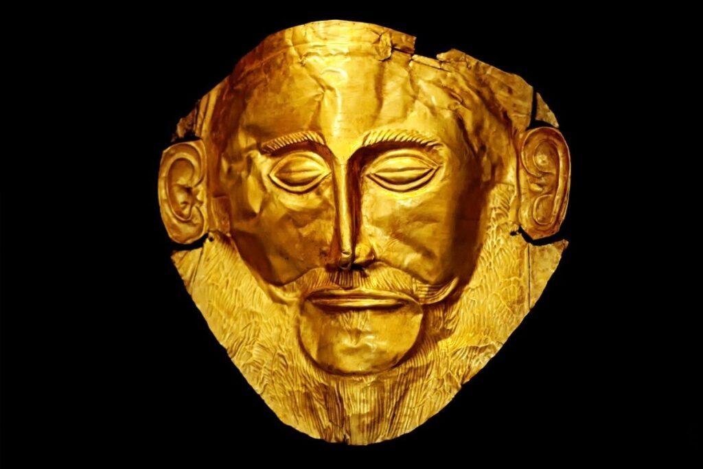 Maschera funeraria in oro di Agamennone