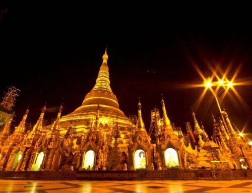 La pagoda Shwedagon di Yangon